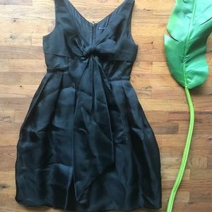 magaschoni collection dress LBD with bow
